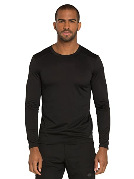 e3d87a2d5d6 Amazon.com: Dickies Dynamix DK910 Men's Long Sleeve Solid Underscrub T-Shirt:  Clothing