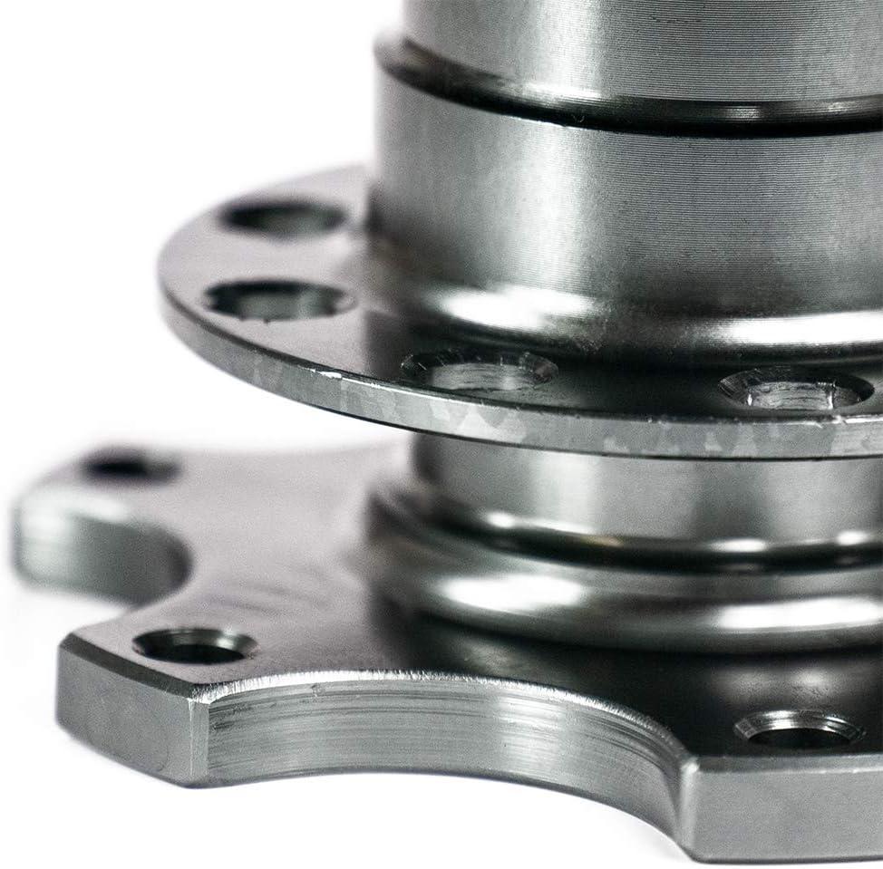 Omp Sport lenkr/äder Snap Off Volant Fermeture Rapide dans Titanium Argent/ Momo /Kit de volant sport Quick Release pour Sparco