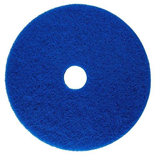 Floor Pad 20 Inch Diameter Blue Stripping Buffer Polish Scrub Americo