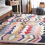 nuLOOM Ofelia Hand Tufted Wool Area Rug, 5' x