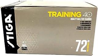 Stiga Trainer ABS 40+ Pack 6U. Bianche