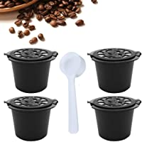 Cápsulas de café monodosis recargables, reutilizables, compatibles