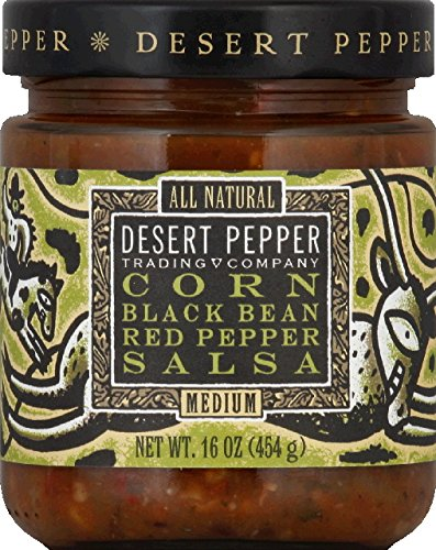 Salsa Roasted Pepper Desert (Desert Pepper Corn Black Bean Roasted Pepper Salsa (6x16 OZ))