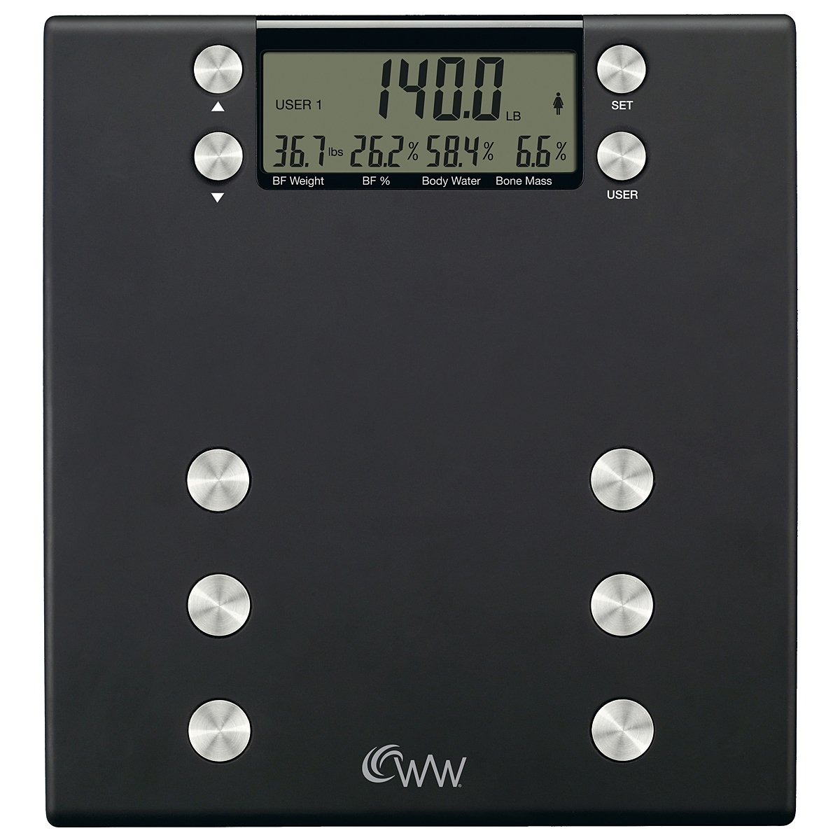 Weight Watchers Body Analysis Digital Precision Scale WW54C