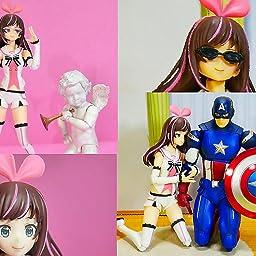 Amazon Co Jp Figma Kizuna Ai Non Scale Abs Pvc Pre Painted Action Figure Hobby
