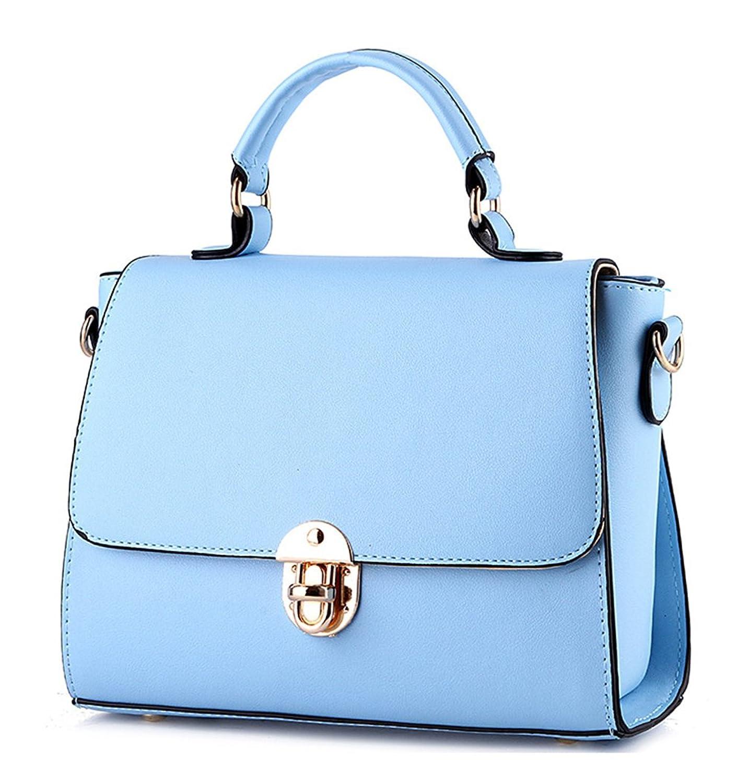 Keshi PU Fashion Classic Straw Summer Beach Sea Shoulder Bag Handbag Tote