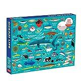 1000 piece fish puzzles - Mudpuppy Ocean Life Puzzle (1000 Piece)