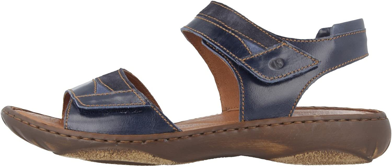 Josef Seibel Debra 19 Sandales en Grande Taille Bleu 76719 44 596 Grandes Chaussures Femmes