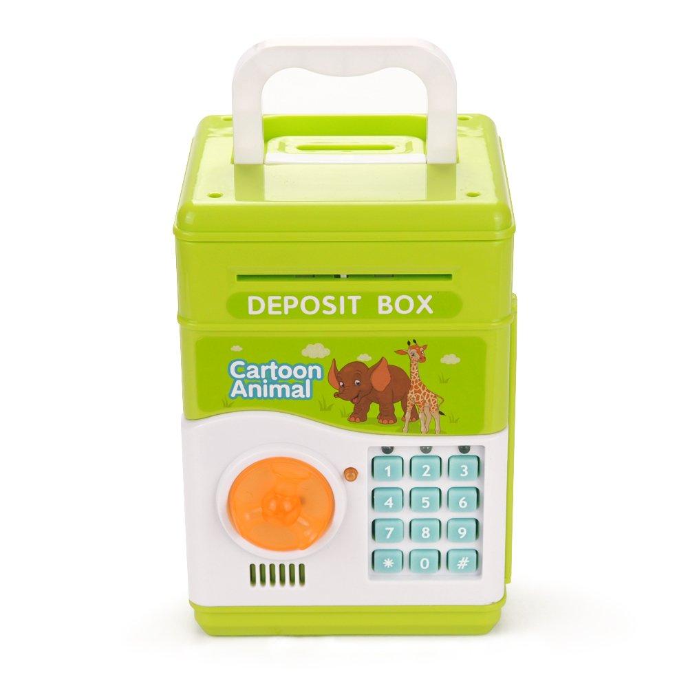 Toyen電子depositボックスElectronic Money Bankボックス誕生日ギフトのおもちゃ子供用   B078Z9CJPX