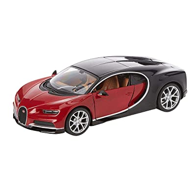 Maisto M39514 Diecast 1:24 Scale Model kit to Build The Bugatti Chiron: Toys & Games