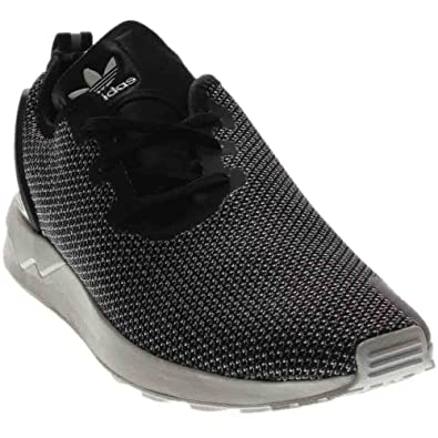 4a5d1c3d8 adidas Zx Flux Racer Knit Casual Men s Shoes Size 10.5 Grey Black