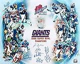 1986 New York Giants Signed 16x20 Photo - 16 Signatures! - Super Bowl Champions! - Bart Oates, Karl Nelson, etc.