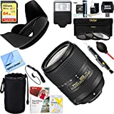 Nikon AF-S DX NIKKOR 18-300mm f/3.5-6.3G ED VR Lens (2216) + 64GB Ultimate Filter & Flash Photography Bundle
