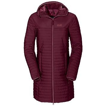 cabe49cb99b1 JACK WOLFSKIN Womens CLARENVILLE Jacket Garnet RED (Medium)  Amazon ...