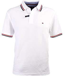 06f45979 Tommy Hilfiger Mens Classic Fit Knit Cotton Polo Shirt at Amazon ...