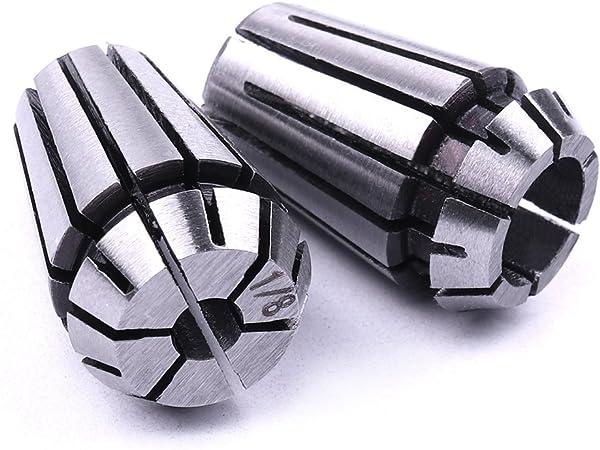 Atoplee 1//20,3/cm e 1//10,2/cm ER11/primavera Collet set per fresatura CNC incisione /& tornio strumenti