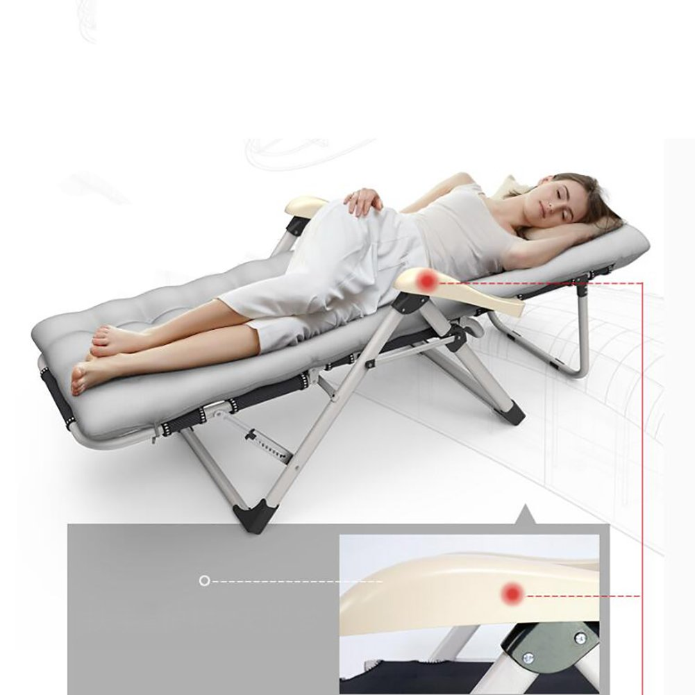 Amazon.com : Patio Lounger Chair, Household Balcony Folding ...