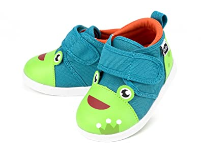 Attractive Squeaky Shoes For Toddlers W/ Adjustable Squeaker, By Ikiki (11, Prince  Kairu