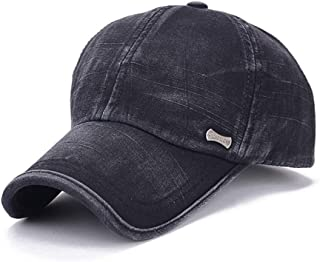Men's Baseball Cap Cotton Hat Sun Hat Outdoor Cap for Spring Autumn One Size Useful and Practical