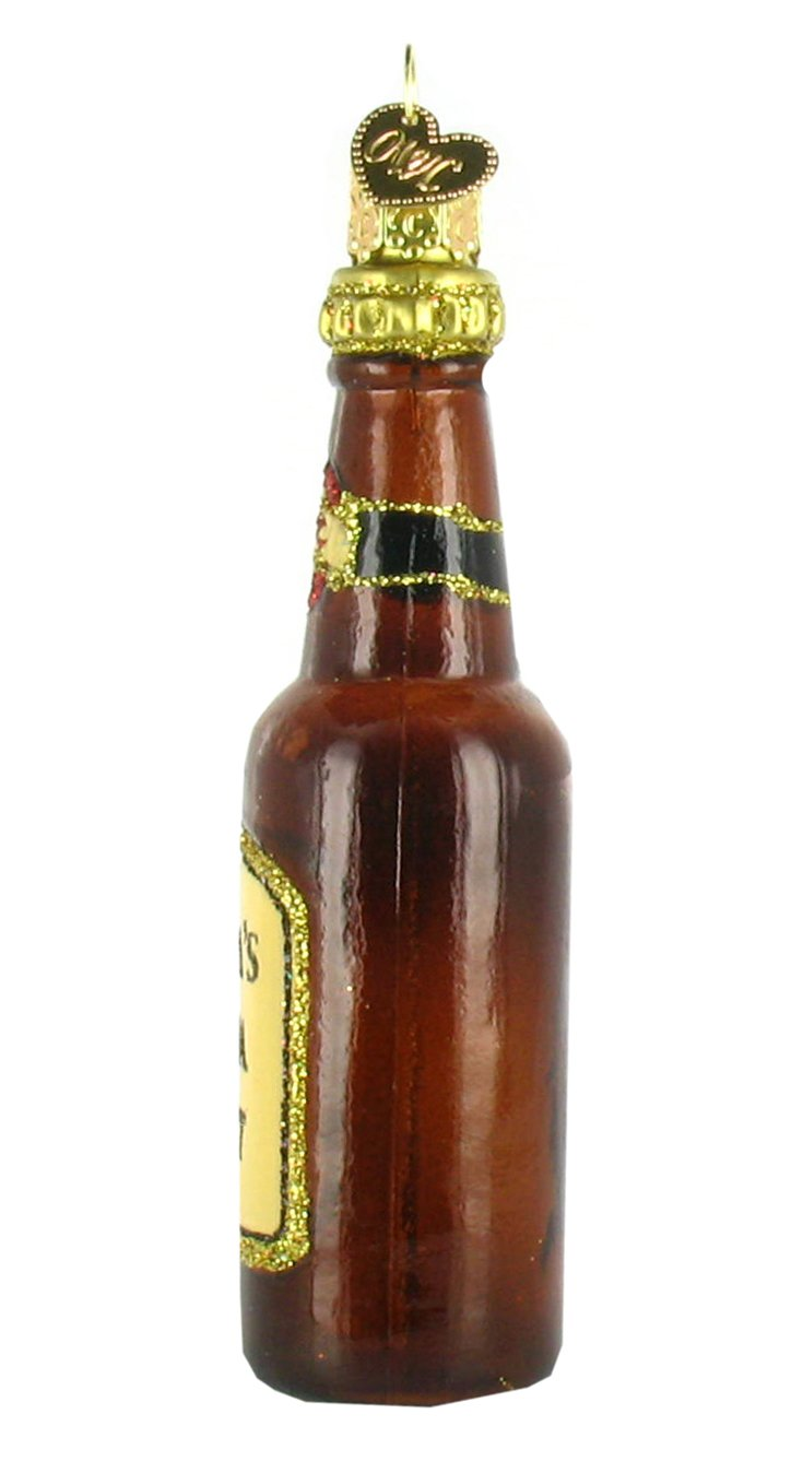 Amazon.com: Old World de Navidad Ornamento cerveza Botellas ...