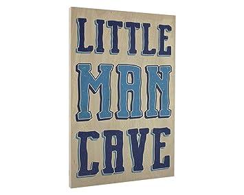 Elegant Signs Toddler Boys Room Wall Decor Art For Kids Bedroom   Lil Man  Cave Wood