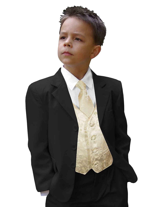 Amazon.com: Juego de Paul Malone chaleco niños traje con ...