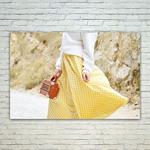 Westlake Art Poster Print Wall Art - Yellow Fashion - Modern