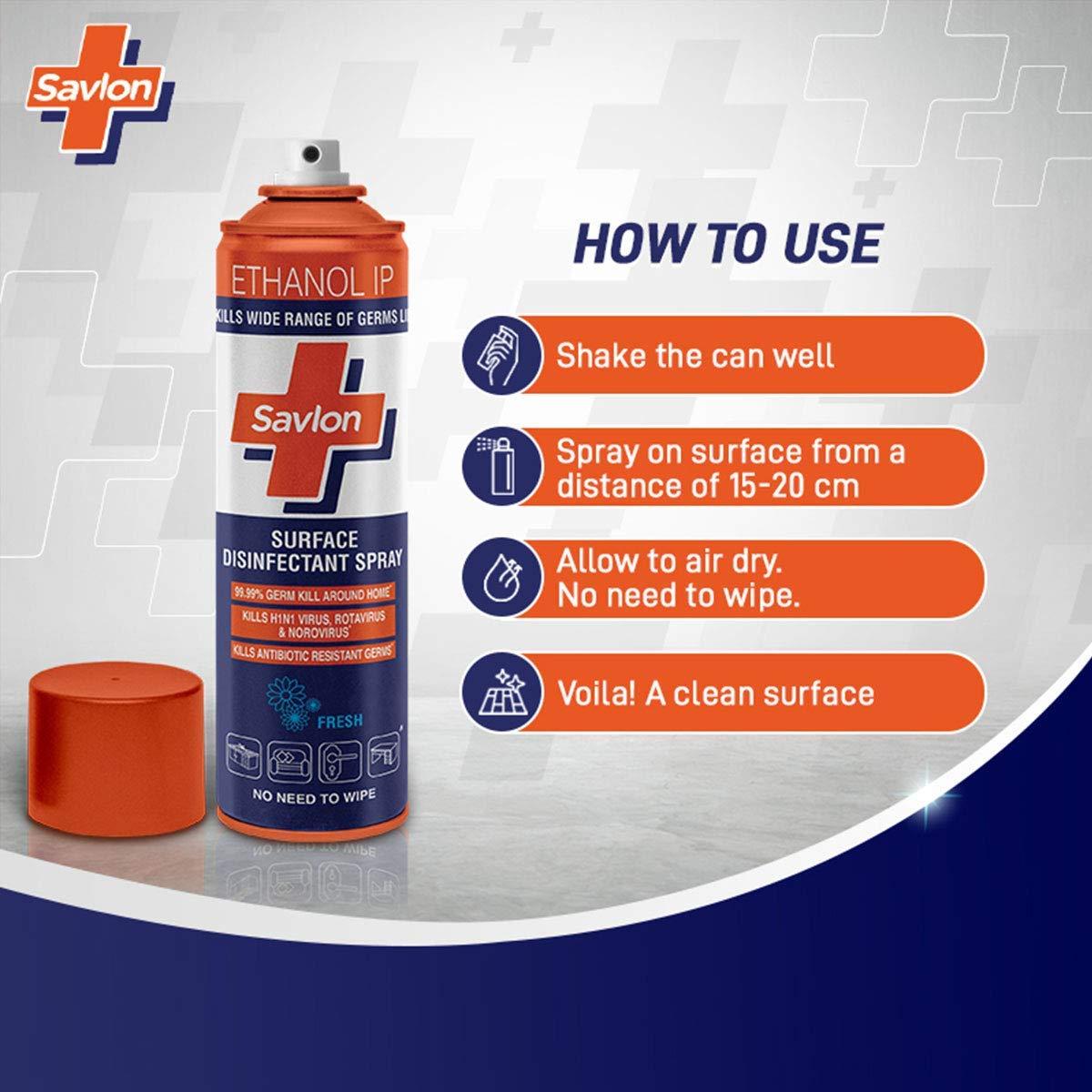 Savlon Surface Disinfectant Spray sanitizer