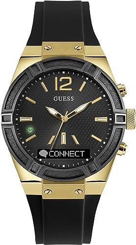 Guess Connect Reloj para Unisex Analógico/Digital de Cuarzo con Brazalete de Goma C0002M3: Amazon.es: Relojes