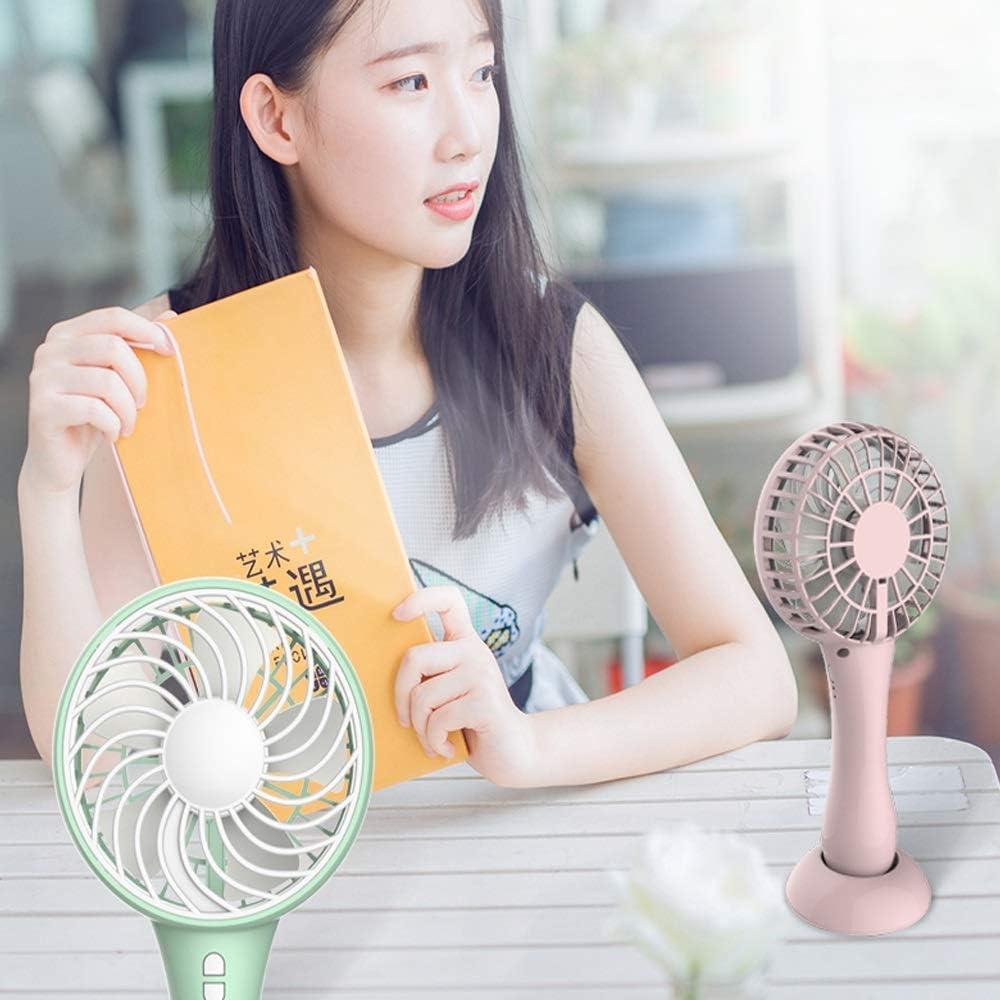 Jiu Si Small Fan USB Fan Student Cute Desk Desktop Bed Dormitory Charging Portable Fan Portable Mini Fan Small Fan Electric Fan Night Light 5W USB Fan Color : C