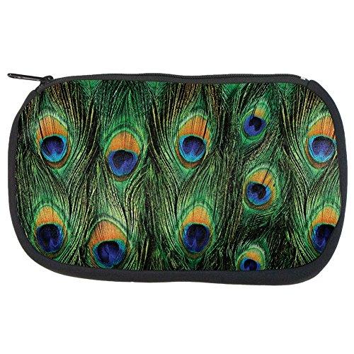 Peacock Feathers Makeup Bag ()