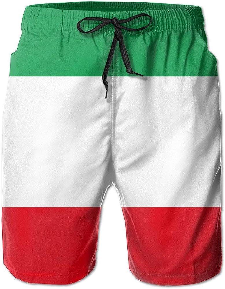 Pantalones cortos de playa con diseño de la bandera de Italia para hombre, ultraligeros, con cinta telescópica y bolsillo Blanco blanco XXL: Amazon.es: Ropa y accesorios