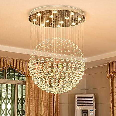 Lampadari Rotondi Moderni.Lampade A Sospensione Lampadari A Cristallo Lampadari