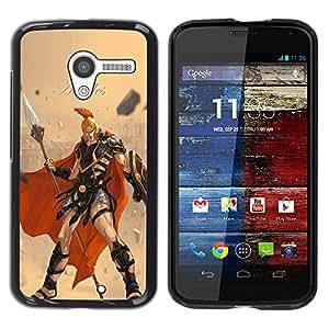 EJOY---Cubierta de la caja de protección la piel dura para el ** Motorola Moto X 1 1st GEN I ** --Aquiles
