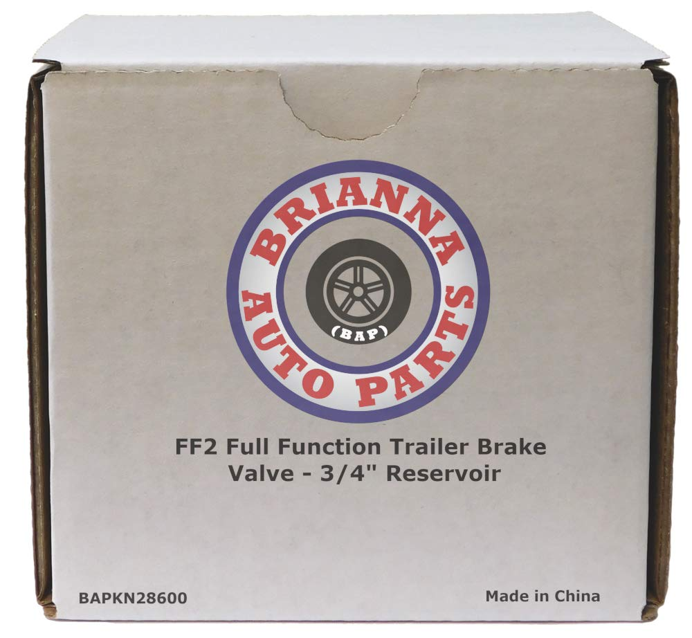 FF2 Full Function Trailer Brake Valve - 3/4'' Reservoir for Heavy Duty Big Rigs by Brianna Auto Parts (BAP) (Image #7)