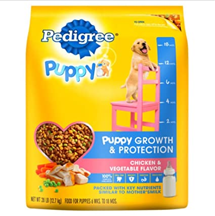 Amazon Com Pedigree Puppy Help Puppies Develop Strong Teeth And