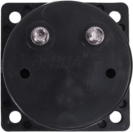 CUHAWUDBA Clase 2.5 exactitud AC 0-5A del panel analogico ronda metros amperimetro Negro