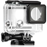 ShipeeKin Nieuwe Vervanging Onderwater Waterdichte Beschermende Duikbehuizing Case Voor GoPro Hero 3+ 4 Camera…