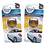 Febreze Car Vent Clips Smoke Odor Eliminator, Fresh Citrus Scent, (Pack of 8)