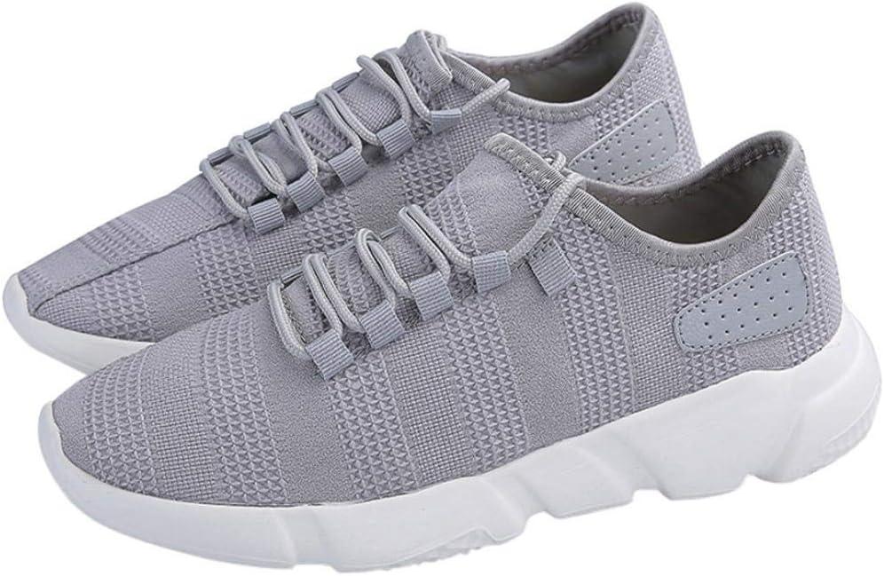 WWricotta LuckyGirls Zapatillas de Correr Hombre Malla Casual Cómodas Calzado Deportivo Zapatos Planos Informales Bambas de Running: Amazon.es: Deportes y aire libre