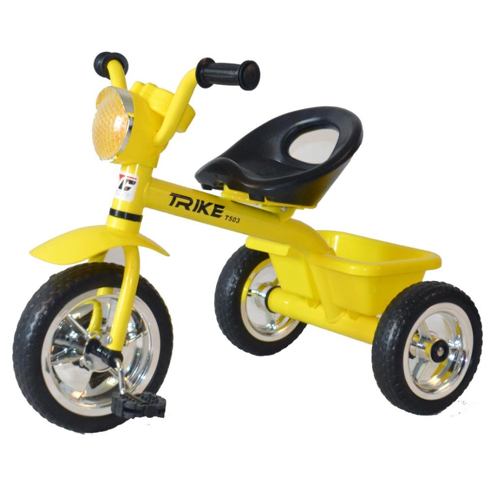 fafccb818ad Buy Cosmic Trike Kids TRI-Cycle Yellow Online at Low Prices in India -  Amazon.in