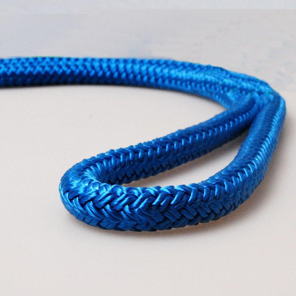 Bleu ERHANG Cordelettes Multipurpose Aventure en Plein Air Corde Diamètre 14mm (10m 32ft) (20m 64ft) (30m 94ft) Corde De Parachute Corde De Sécurité Force Maximale De Traction De Sécurité 200kg 40m