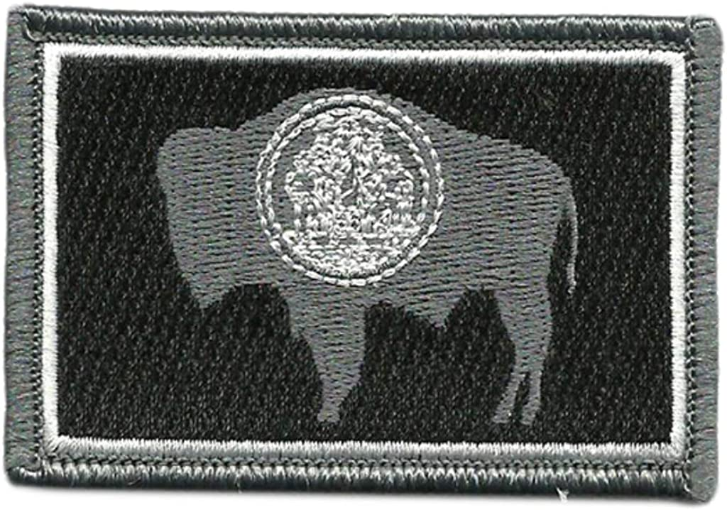 View Colors Wyoming Tactical State Patch