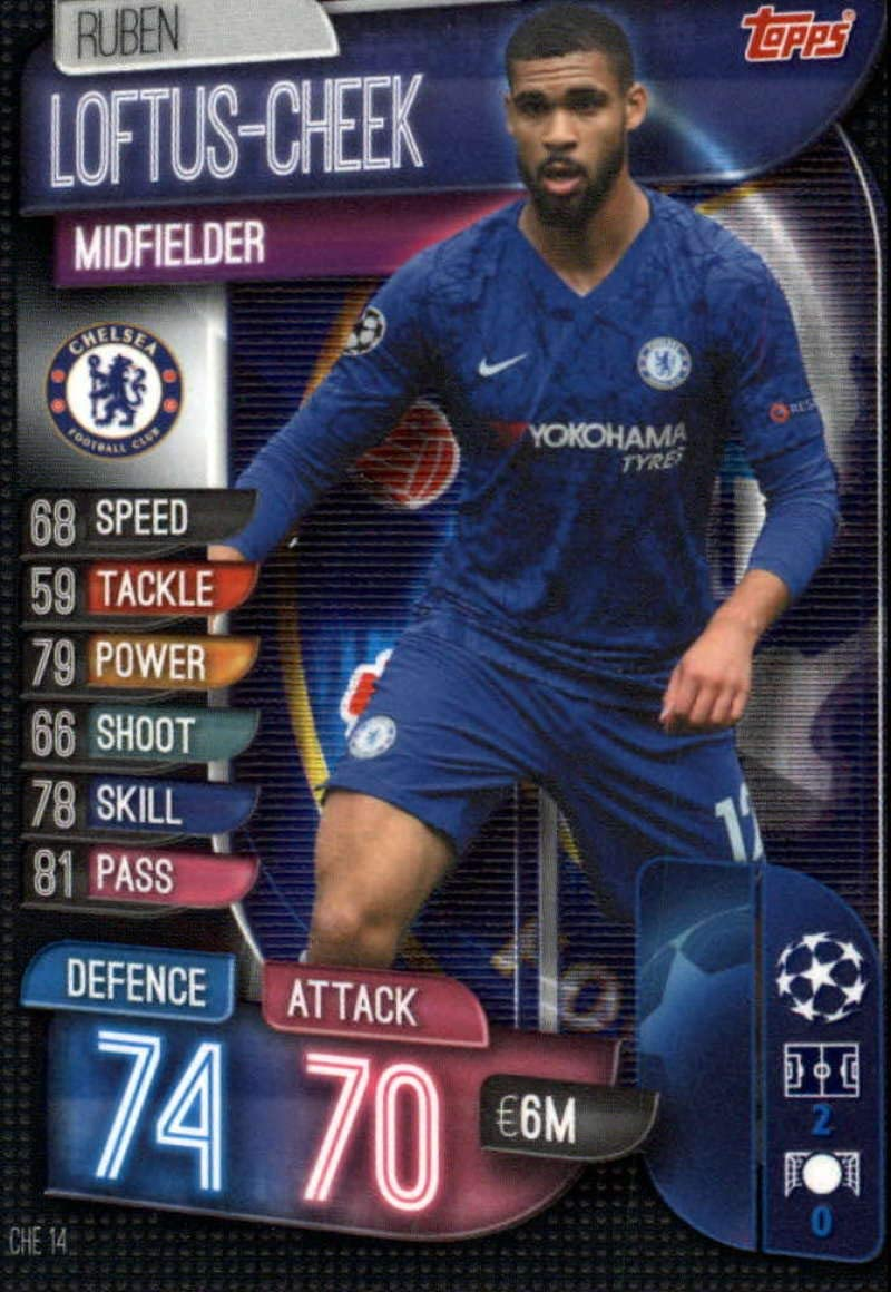 Chelsea EUROPA LEAGUE Winners Football 2019 Trading Cards