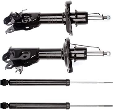 Shocks Struts,ECCPP Front Rear Shock Absorbers Strut Kits Compatible with 2006 2007 2008 2009 2010 Honda Civic 339036 72287 339035 72286 343460 5609