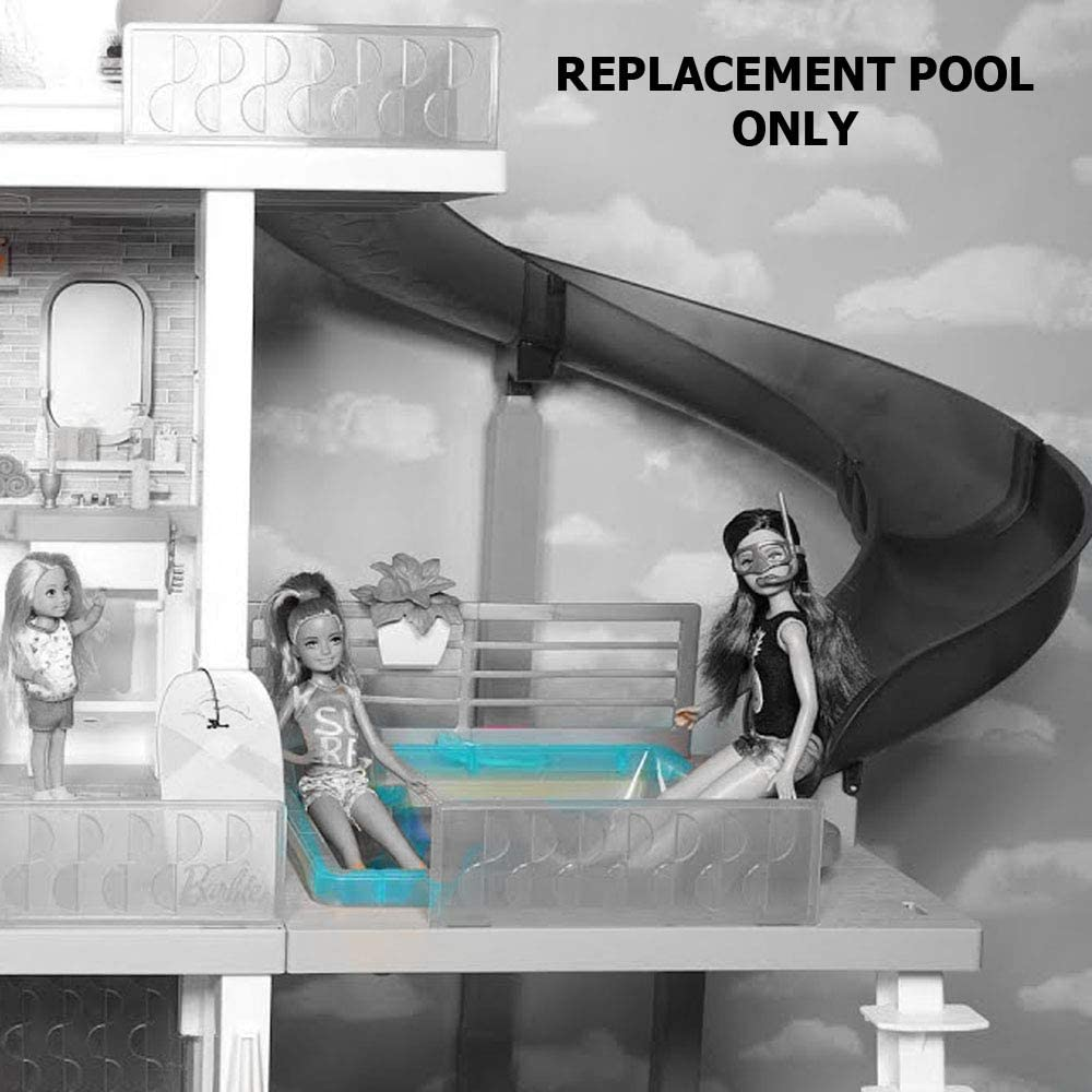 Includes 1 Blue Barbie Doll Replacement Pool Replacement Parts for Barbie Dream-House FHY73