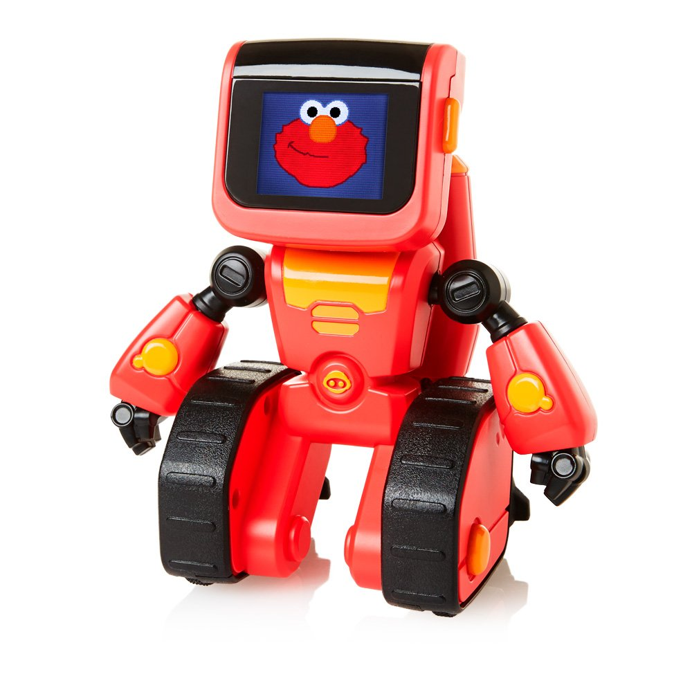WowWee Elmoji Junior Coding Robot Toy, Red by WowWee (Image #4)