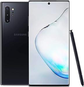 Samsung Galaxy Note 10+, 256GB, Aura Black - Fully Unlocked (Renewed)
