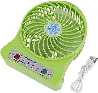 Portable USB fan green