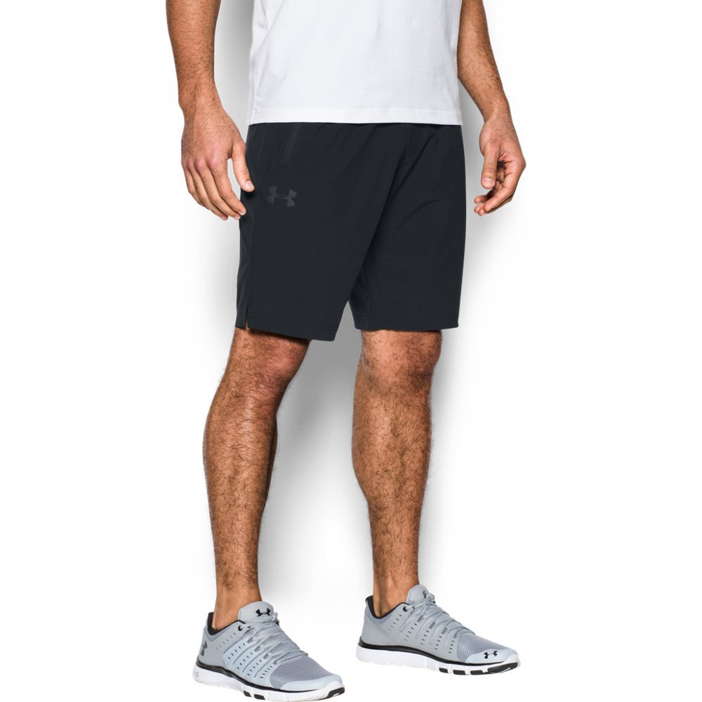 Under Armour Men's Ultimate DIA Shorts,Black (001)/Black, Large by Under Armour